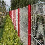 雙邊絲綠色鋼絲網高速公路圍欄網圈地護欄網
